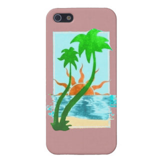TROPICAL PARADISE COVER FOR iPhone 5