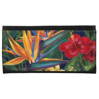 Tropical Paradise Hawaiian Floral Wallets