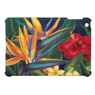 Tropical Paradise Hawaiian iPad Mini Cases