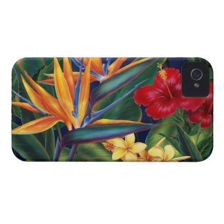 Tropical Paradise Hawaiian iPhone 4 Cases