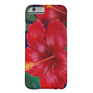 Tropical Paradise Hibiscus Hawaiian iPhone 6 case