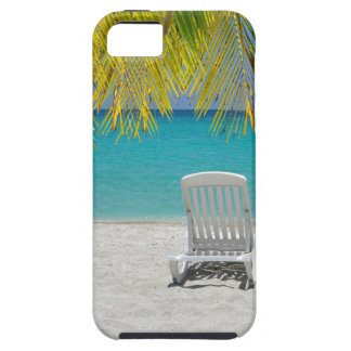 Tropical paradise lounger iPhone 5 cover