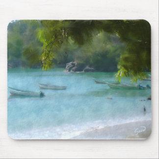 Tropical Paradise Mouse Mat