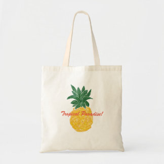 Tropical Paradise Pineapple Tote