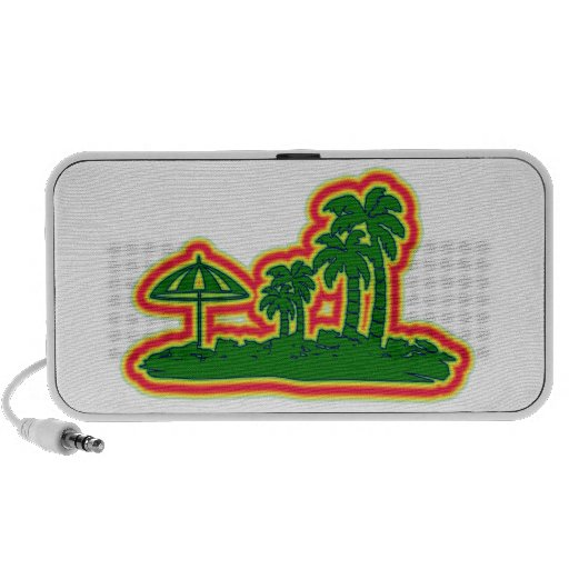 Tropical Paradise PC Speakers