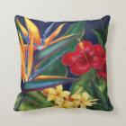 Tropical Paradise Square Decorator Pillows