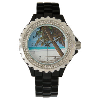 Tropical Paradise - Sunny day at the beach Watch