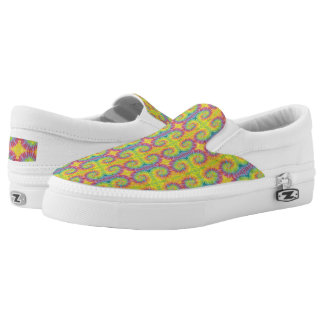 Tropical Paradise Swirl Printed Shoes