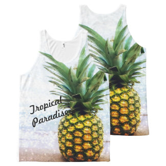 Tropical Paradise Uni-Sex Tank Top