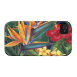 Tropical Paradise Vibe iPhone 4 Case