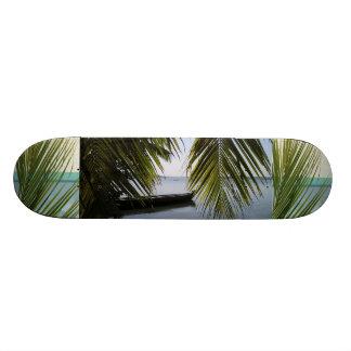 Tropical Paradise Water Beach Sand Surf Destiny Skate Board Decks
