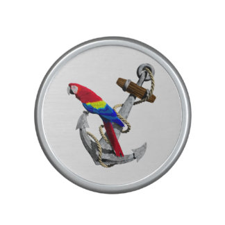 Tropical Parrot And Anchor Speaker