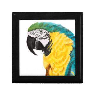 Tropical Parrot Bird Gift Box