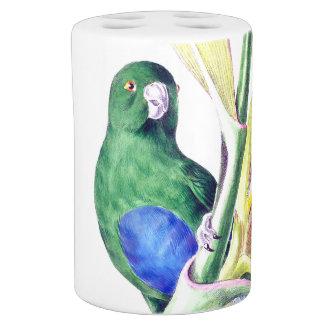 Tropical Parrot Bird Wildlife Animal Bath Set