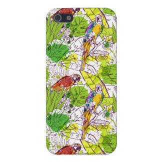 Tropical Parrots Case For iPhone 5/5S