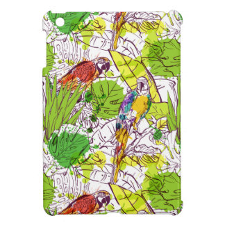 Tropical Parrots Case For The iPad Mini