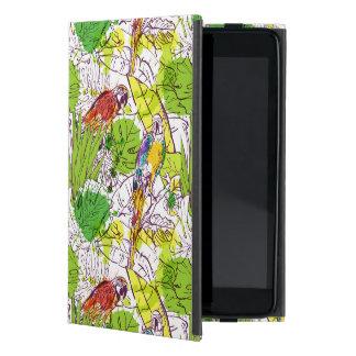 Tropical Parrots Cover For iPad Mini