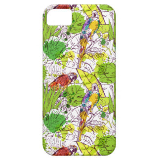 Tropical Parrots iPhone 5 Cover