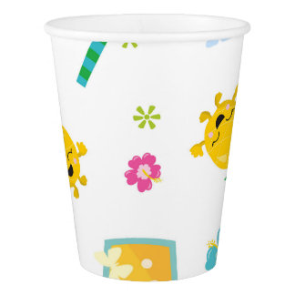 Tropical party paper cup