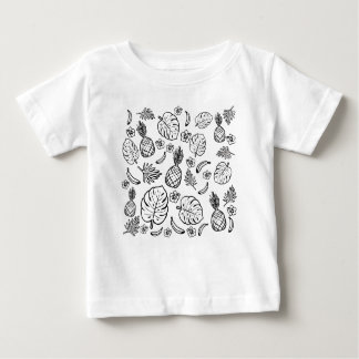 Tropical pattern baby T-Shirt