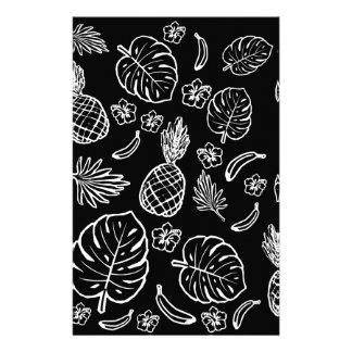 Tropical pattern customized stationery