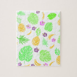 Tropical pattern puzzle