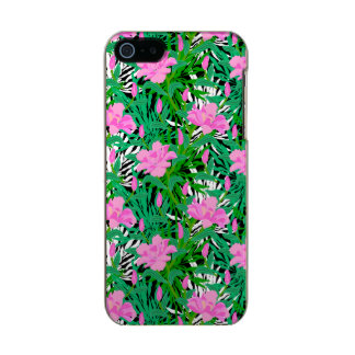 Tropical Pattern With Jungle Flowers Incipio Feather® Shine iPhone 5 Case