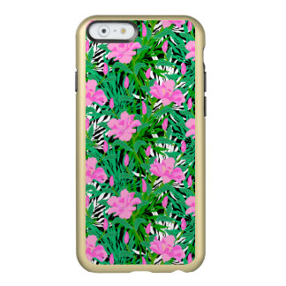 Tropical Pattern With Jungle Flowers Incipio Feather® Shine iPhone 6 Case