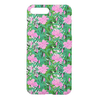Tropical Pattern With Jungle Flowers iPhone 8 Plus/7 Plus Case