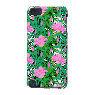 Tropical Pattern With Jungle Flowers iPod Touch (5th Generation) Case