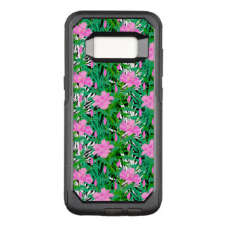 Tropical Pattern With Jungle Flowers OtterBox Commuter Samsung Galaxy S8 Case