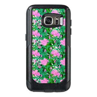 Tropical Pattern With Jungle Flowers OtterBox Samsung Galaxy S7 Case