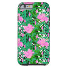 Tropical Pattern With Jungle Flowers Tough iPhone 6 Case