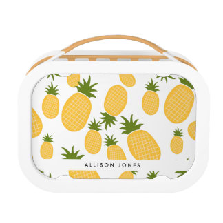 Tropical Pineapple Back to School Lunch Lunch Box