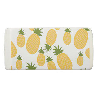 Tropical Pineapple Back to School Personalized Eraser