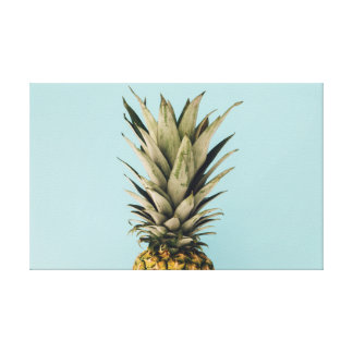 Tropical. Pineapple. Canvas Print