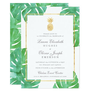 tropical wedding invitations zazzle co uk