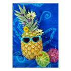 Tropical Pineapple Humour Card