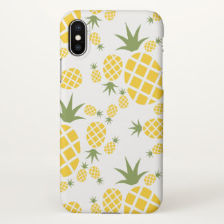 Tropical Pineapple iPhone X Case