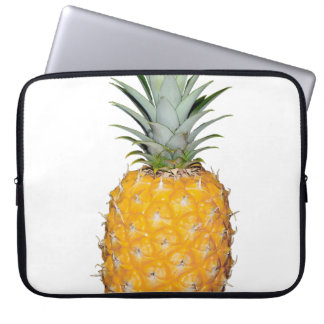Tropical pineapple laptop sleeve