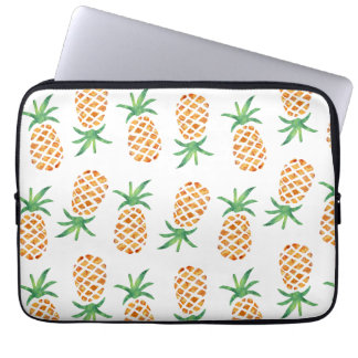 Tropical Pineapple Pattern Computer Sleeves