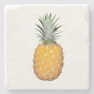 Tropical pineapple stone coaster