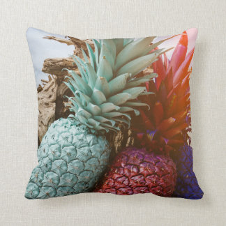 TROPICAL PINEAPPLE SUNSET PILLOW