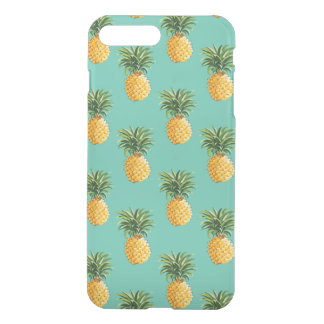 Tropical Pineapples On Teal iPhone 8 Plus/7 Plus Case