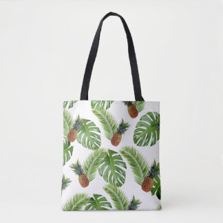 Tropical Pineapples  Tote Bag