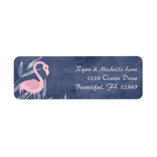 Tropical Pink Flamingo Beach Address