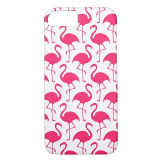 Tropical Pink Flamingo Pattern iPhone 8/7 Case