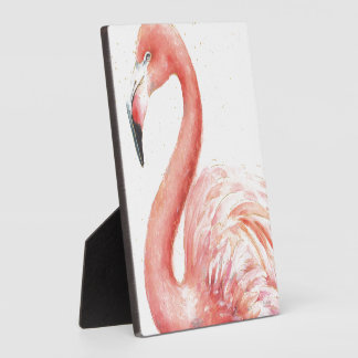 Tropical | Pink Flamingo Plaque