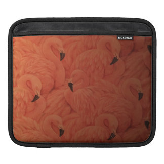 Tropical Pink Flamingos iPad Sleeve
