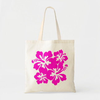 Tropical Pink Hibiscus Bag